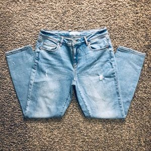 Loft Denim-distresses sz-4